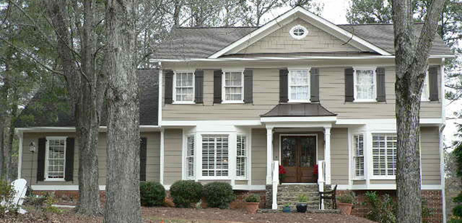 Siding roofing windows exterior renovation contractors raleigh nc raleigh home remodeling - Exterior home remodeling ...